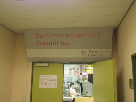 Bochum, Eingang zur Telekom Historik