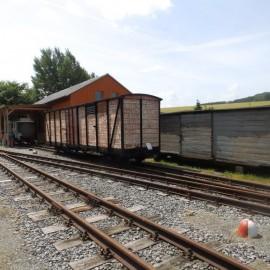 Bahnhofsgelände Blick Richtung Kohlmühle