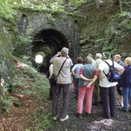 Am ersten Tunnel (63 m lang)