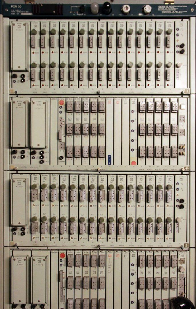 PCM-System für 30 Kanäle
