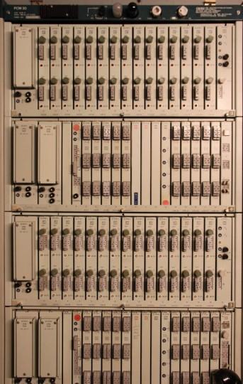 PCM 30, Teilansicht mit 2 kompletten Systemen
