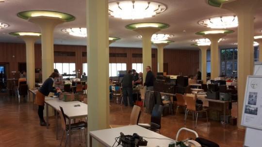 AREB - das Ambiente in der Alten Mensa der TU Dresden