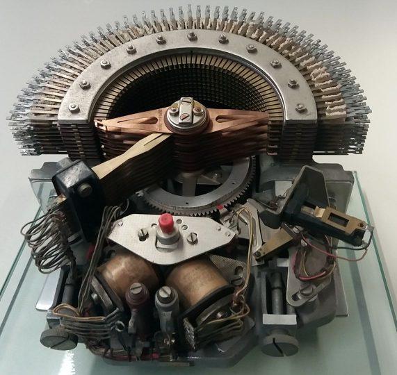Motorwähler System 58, Anschauungsmodell