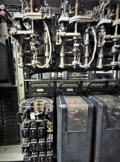 Leitungswähler System 22 Autofabag mit Steuerschalter