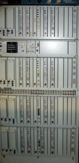 PCM 120 mit Multiplexern 2/8 und einer LEE 8 Mbit/s