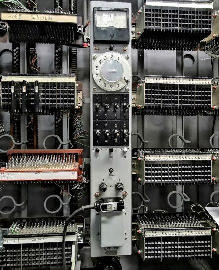 Koordinatenschalter S 64, interne Leitungsprüfeinrichtung LPE 64